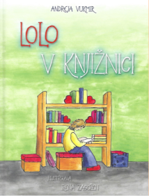 Slikanica Lolo v knjižnici