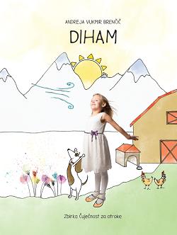 Otroška slikanica DIHAM iz zbirke Čuječnost za otroke