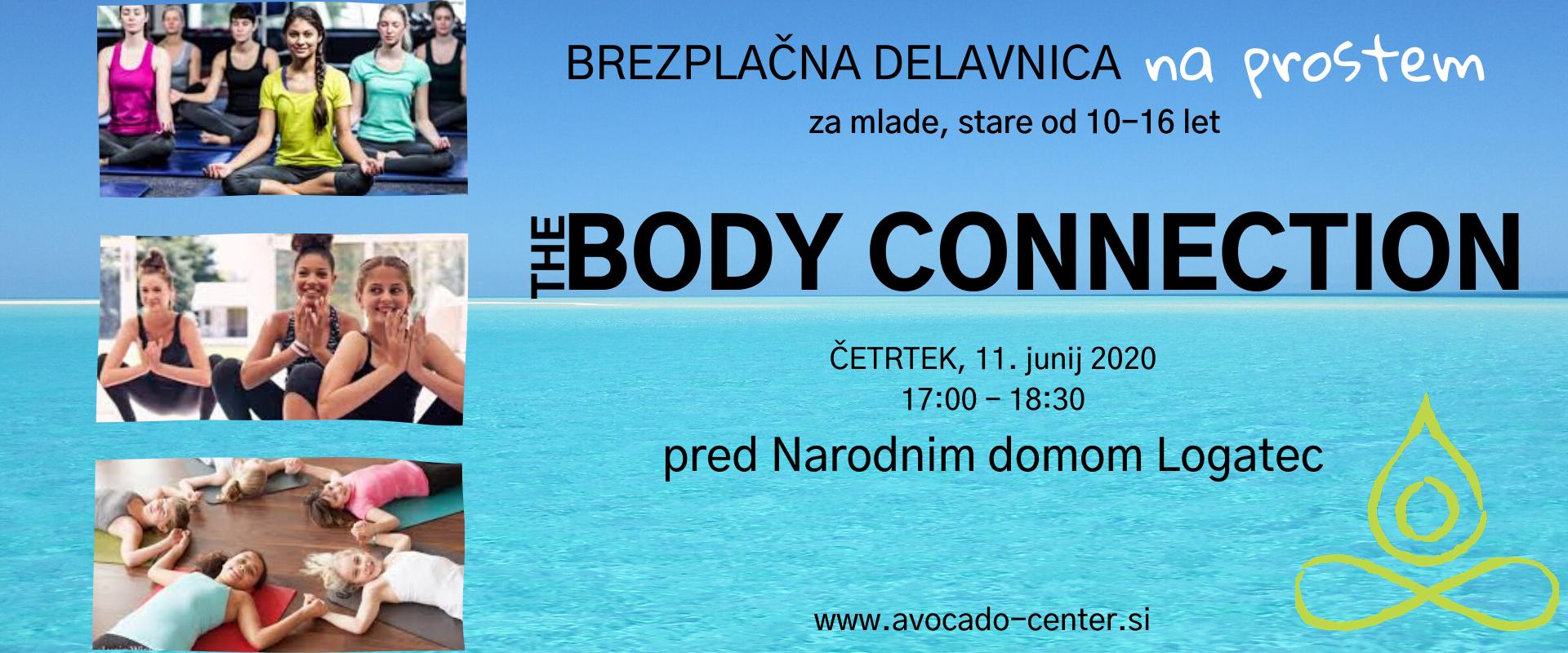 The Body Connection - joga za najstnike poletni na prostem3