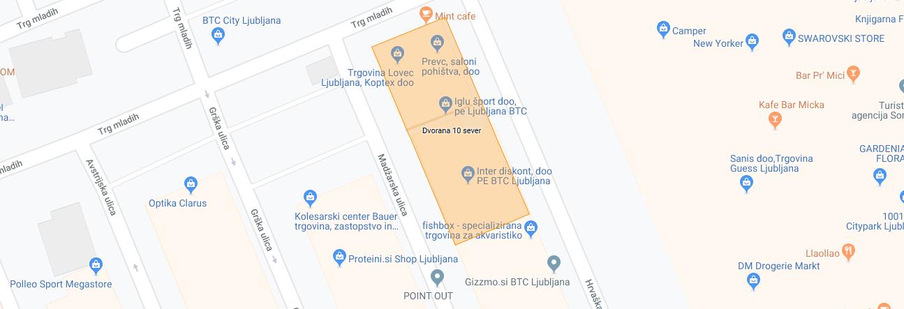 Mint cafe – potrebujete dobro kavo, medtem ko čakate na nakupovalke v trgovinah ljubljanskega BTC?