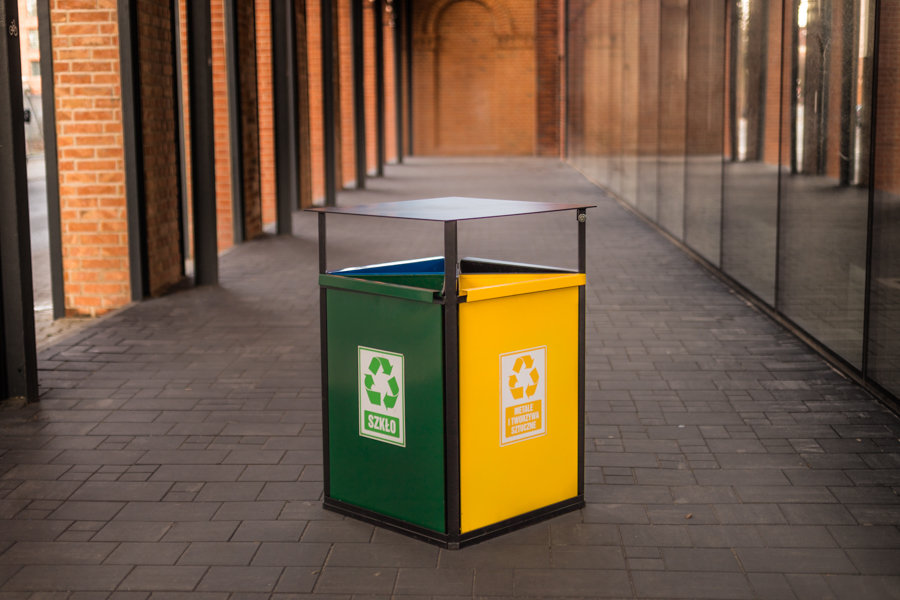 Koš za ločevanje odpadkov - 4 X 40 l