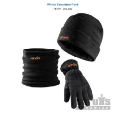 Zaščitni komplet kapa, rokavice šal