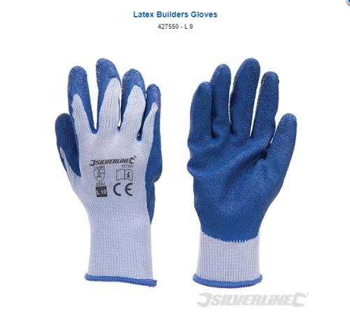 zaščitne rokavice  lateks  težke pogoje dela